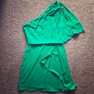BCBG Maxazaria Mina One Shoulder Dress Size 2